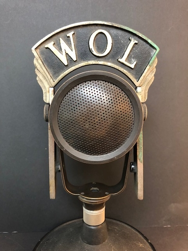 WOL Washington DC, FDR Fireside Chat Microphone 50-A RCA