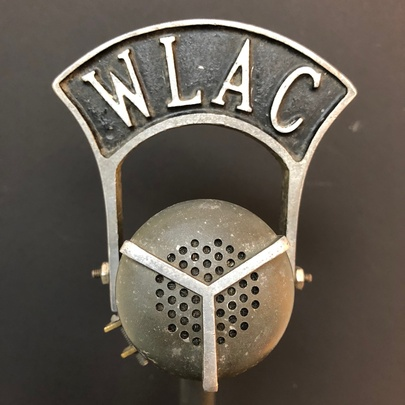 WLAC Nashville Tennessee Radio Western Electric Microphone 633
