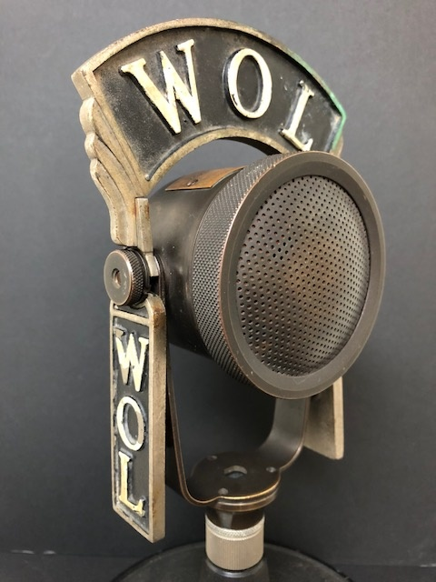 RCA Type 50-A Inductor Microphone WOL Radio