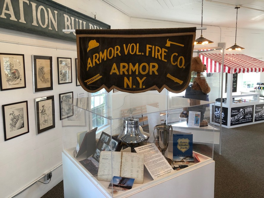 2019 Exhibit celebrating the 75th anniversary of Armor Fire